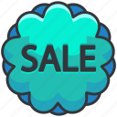 ecommerce, finance, sale, shop, shopping, sticker icon