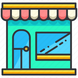 building, ecommerce, finance, shop, shopping icon