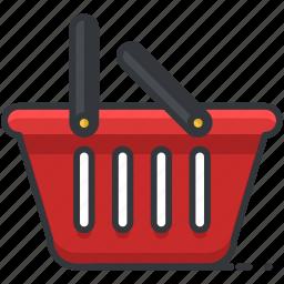 basket, ecommerce, finance, shop, shopping icon