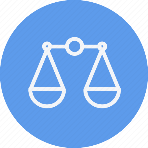 balance, finance, justice, lawyer, legal, scale, weighing icon