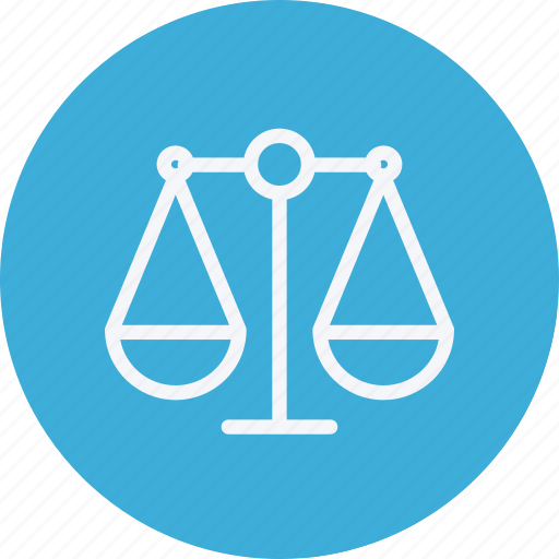 balance, court, justice, legal, police, scale, weight icon