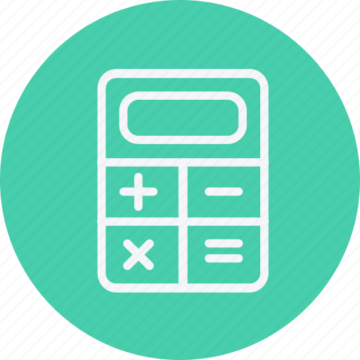 accounting, banking, business, calculating, calculator, finance, mathematics icon
