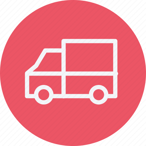 cargo, shipping, transport, transportation, travel, truck, van icon