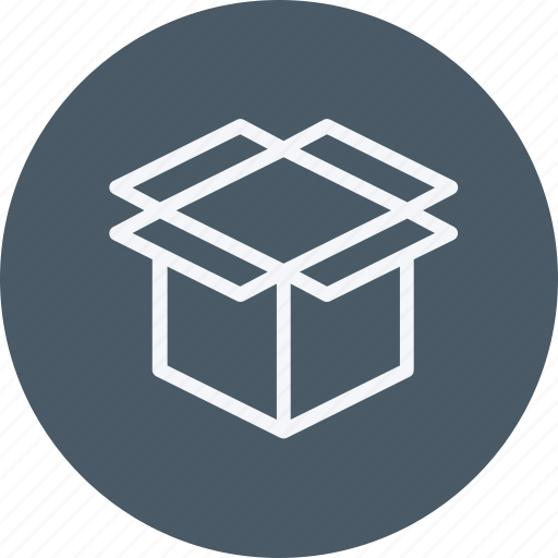 box, carton, cartoon, delivery, ecommerce, product, shipping icon