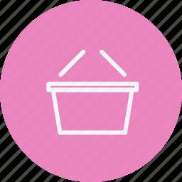 basket, buy, cart, commerce, emty, shipping, shopping icon