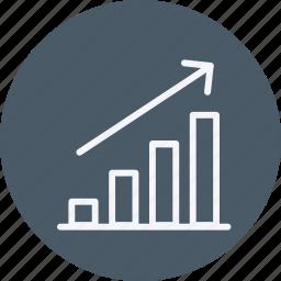 analytics, finance, graph, growth, high, pie, statistics icon