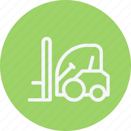 car, delivery, lift, lorry, transportation, truck, vehicle icon