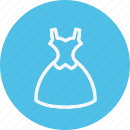 clothes, clothing, dress, party, shirt, wear, woman icon