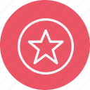 award, badge, bookmark, favorite, favourite, medal, star icon