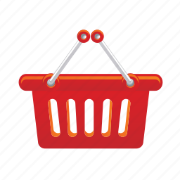 bag, basket, sale, shipping, shopping icon