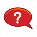 check, information, mark, question, support icon