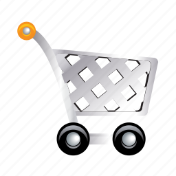basket, shopping, store, supermarket, trolley icon