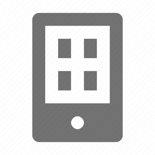 cell phone, cellular phone, mobile, mobile phone, smartphone icon