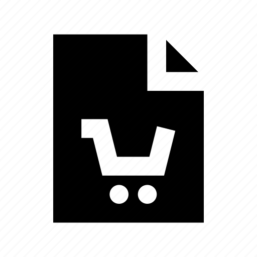 shopping, shopping bill, shopping invoice, shopping list, shopping voucher icon