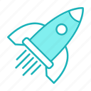 launch, seo, space, speed, startup icon