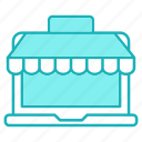 market, online, shopping, store icon