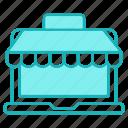 market, online, shopping, store
