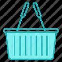 basket, cart, shopping