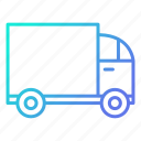 delivery, fast, shipping, shopping and retail, truck icon