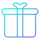 birthday, box, gift, shopping and retail icon