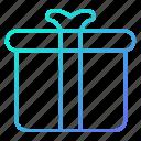 birthday, box, gift, shopping and retail
