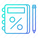 business, notebook, notes, reminder, shopping and retail icon
