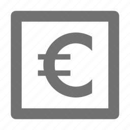 currency, euro, finance, money, trading icon