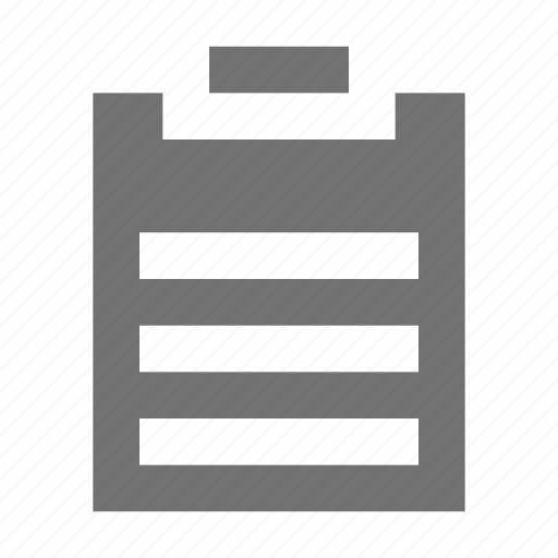 checklist, clipboard list, plan list, schedule, to do icon
