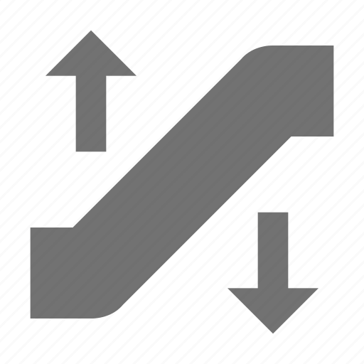 electric stairs, elevator, escalator, moving stairs, staircase elevator icon