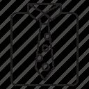 cloth, dress, shirt, tie
