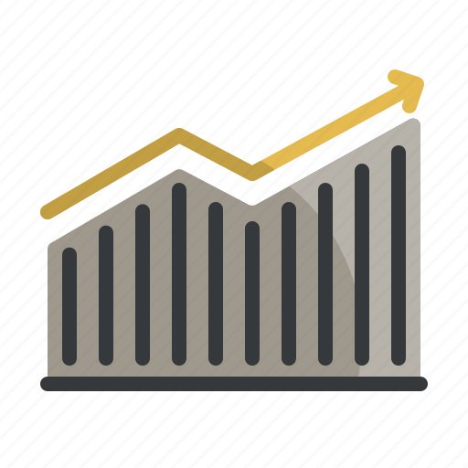 business, finance, graph, growth, revenue, sales, stats icon