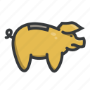 bank, dollar, money, piggy, piggybank, save, savings icon