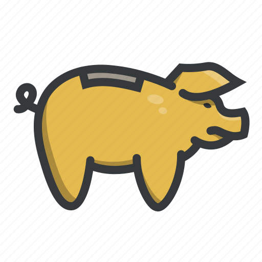 bank, dollar, money, piggy, piggybank, save, savings icon
