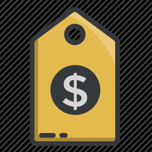 buy, discount, dollar, label, shop, shopping, tag icon