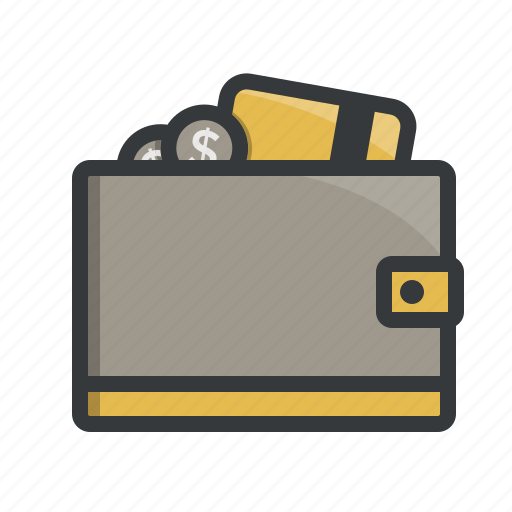 cash, coins, creditcard, finance, money, payment, wallet icon