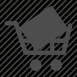 cart, commerce, ecommerce, full, full cart, shopping icon