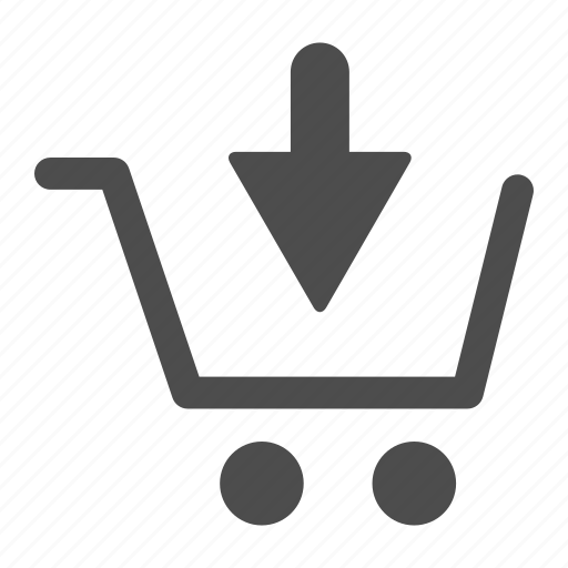 add, arrow, cart, ecommerce, shopping, to icon