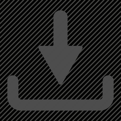 arrow, buy, download, ecommerce icon