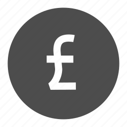 bank, ecommerce, money, shopping, sterling icon
