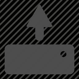 commerce, ecommerce, upload icon