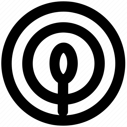 aim, arrow, bullseye, dartboard, game, goal, target icon