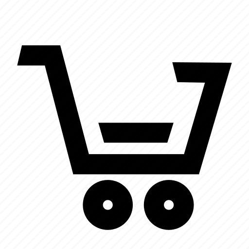 cart, checkout, grocery, low, shopping icon
