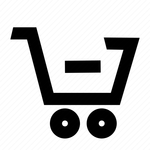 cart, checkout, minus, remove, shopping icon