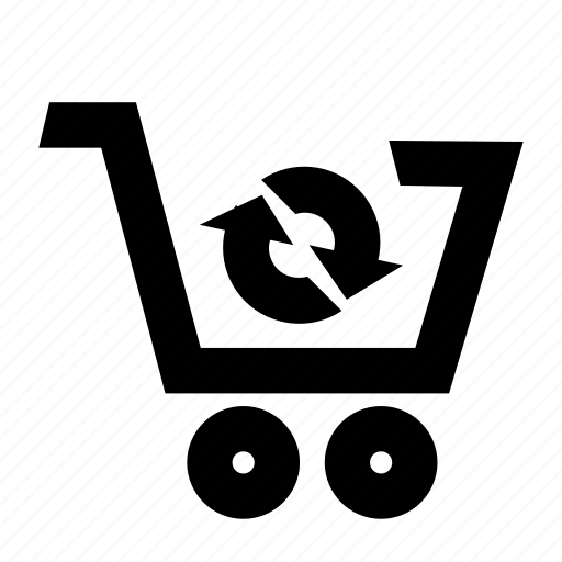 cart, check out, checkout, refresh, shopping icon