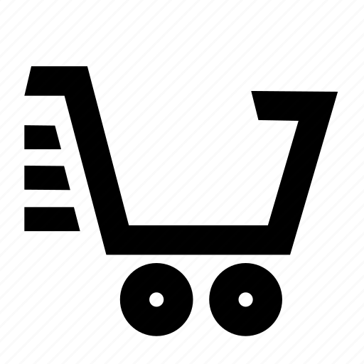 cart, checkout, empty, fast, shopping icon