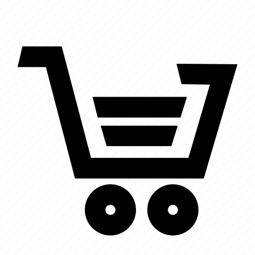 cart, checkout, grocery, shopping, stack icon