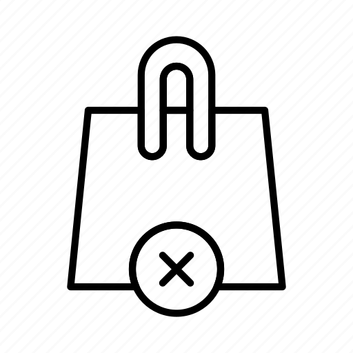 bag, buy, ecommerce, remove, shop, shopping cart icon