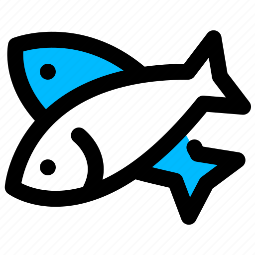 fish, products, sea, seafood icon