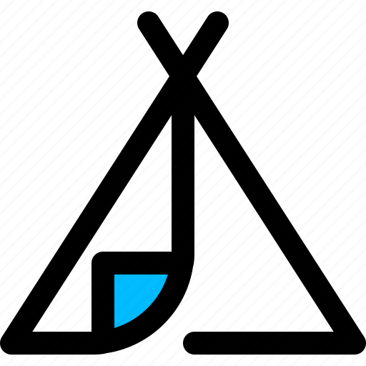 adventure, camp, outdoors, tent icon