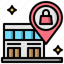 gps, location, map, pin, placeholder, position icon